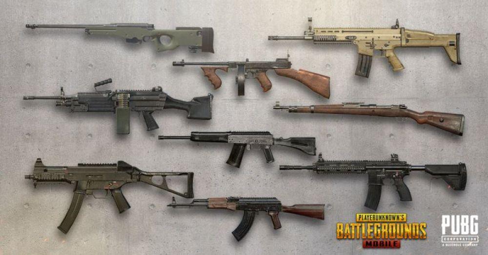 senjata mematikan game pubg