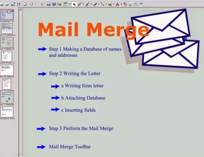 pengertian mail merge