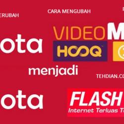merubah kuota videomax menjadi kuota reguler
