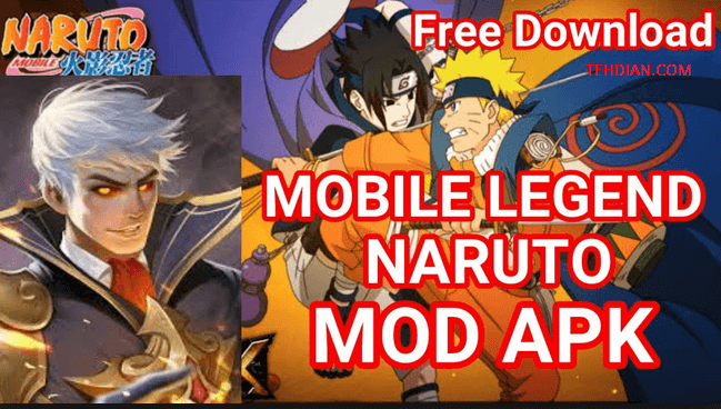 apk naruto senki mobile legends