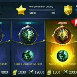 peringkat mode ranked di mobile legend