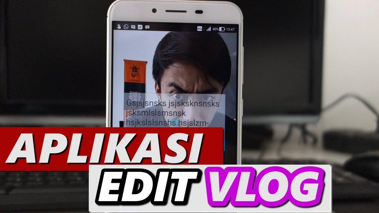 aplikasi edit video vlogger