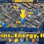 Cheat Criminal Case Android Energy dan Bintang tidak terbatas bahasa Indonesia