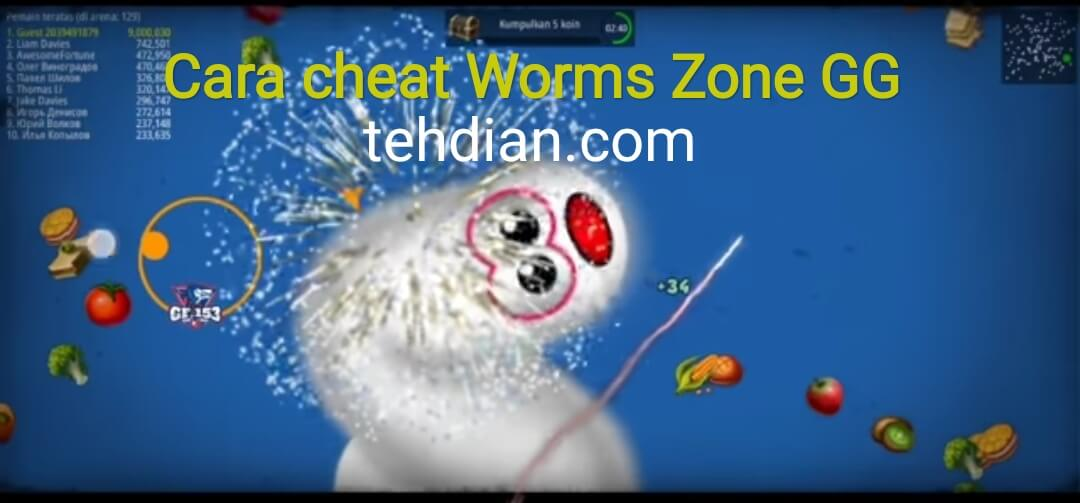cheat worms zone android