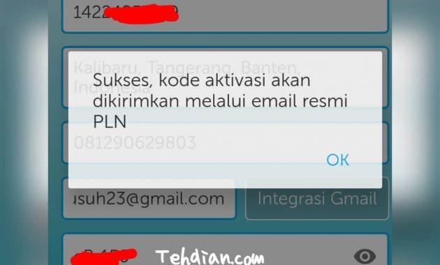 Verifikasi pln mobile