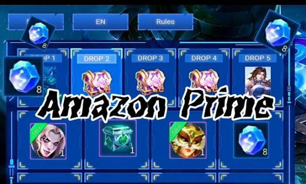 Buat Amazon prime mobile legends free