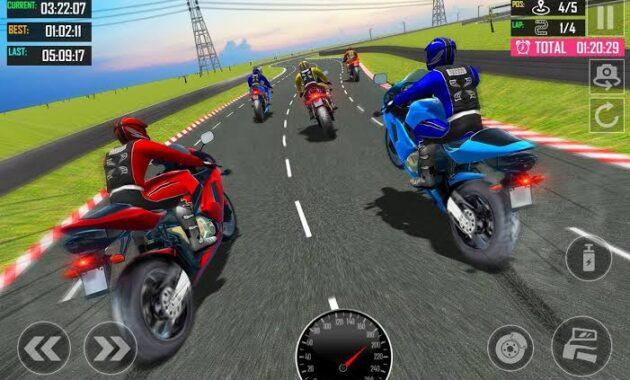 Real bike racing motor balap