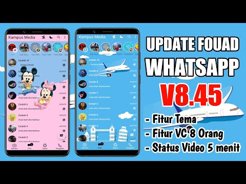 Update Fouad WhatsApp v8 45