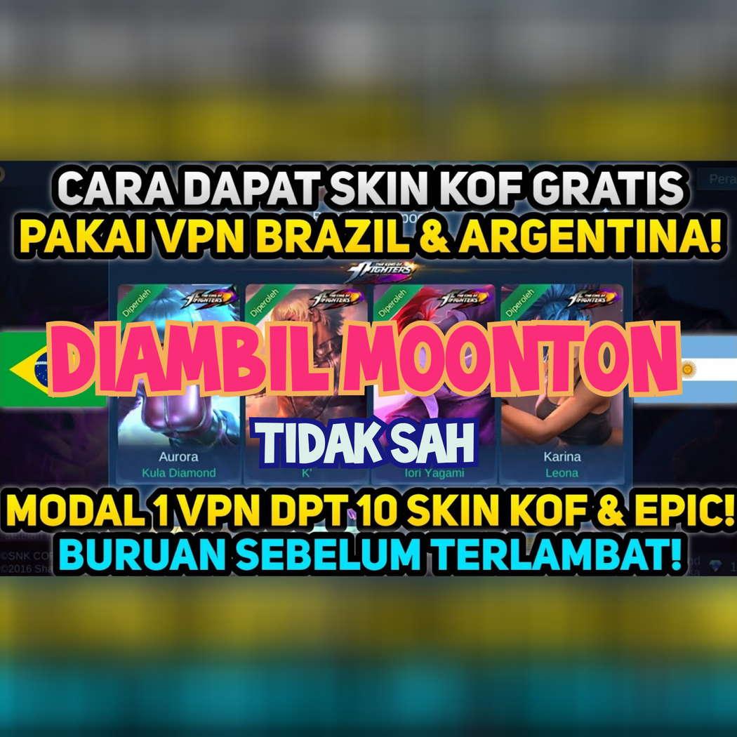Skin KOF VPN Brazil
