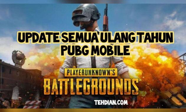Ulang tahun PUBG Mobile