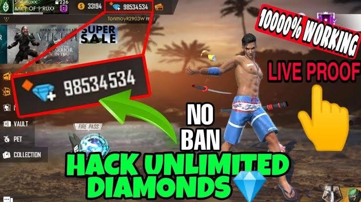 cheat diamond free fire tak terbatas di android