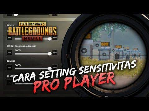 setting sensitivitas pubg mobile android no recoil