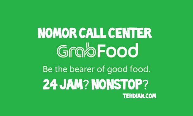 Nomor call center grabfood