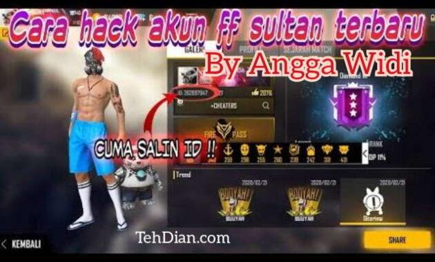 Hack Akun Free Fire By Angga Widi Di Youtube Hoax Atau Cuma Cari Subscribe Tehdian Com