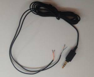 Kabel headset yang putus ditemukan