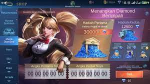 Mega diamond mobile Legends